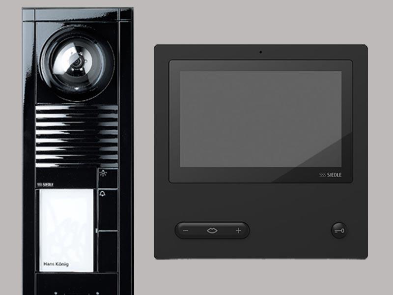 Домофон Siedle с вызывной панелью серии Vario