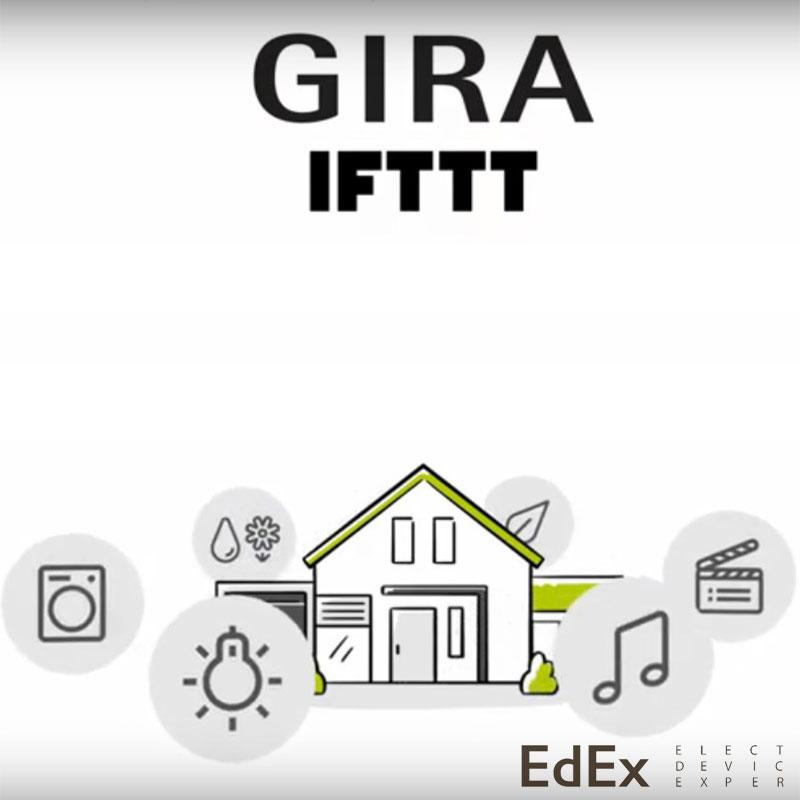 Автоматизация Gira с IFTTT