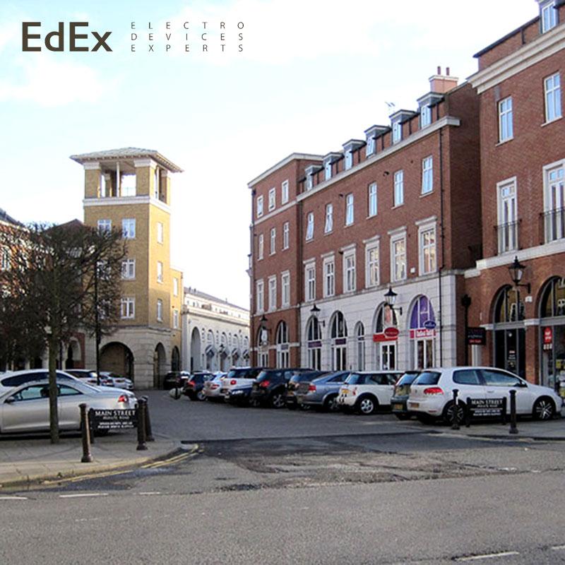 Dickens Heath Village - умный поселок в Англии