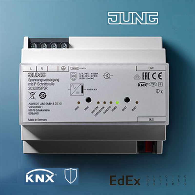 Источник питания KNX и IP-интерфейс