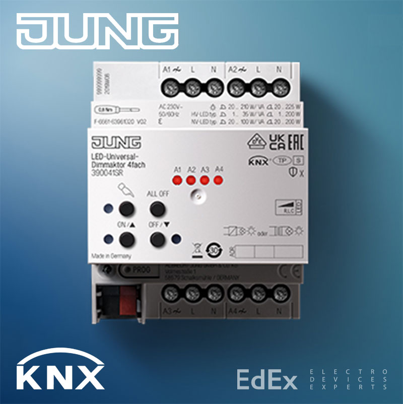 KNX LED диммер JUNG