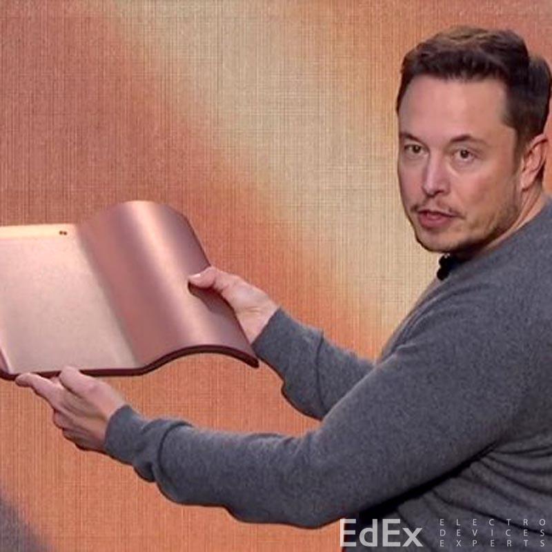 Кровельная черепица Tesla