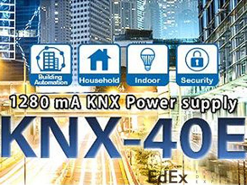 Mean Well, новый блок питания KNX