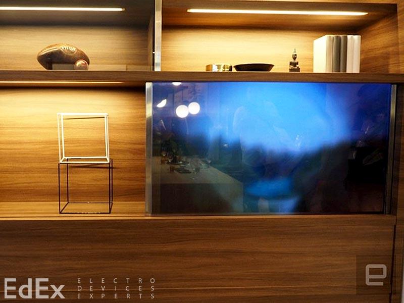 Невидимый телевизор от Panasonic