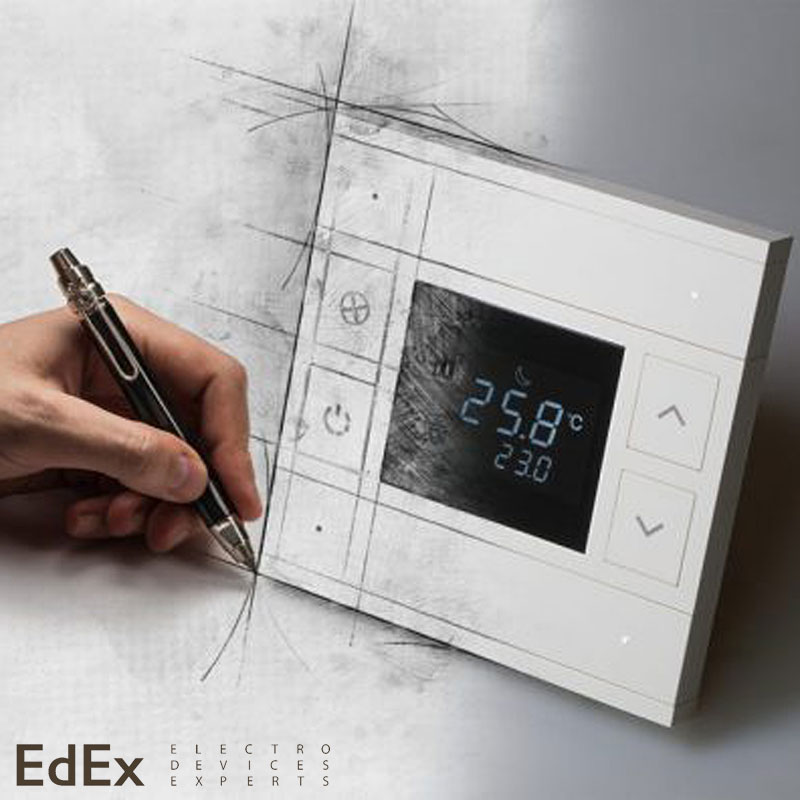 Oria - KNX выключатели и термостаты