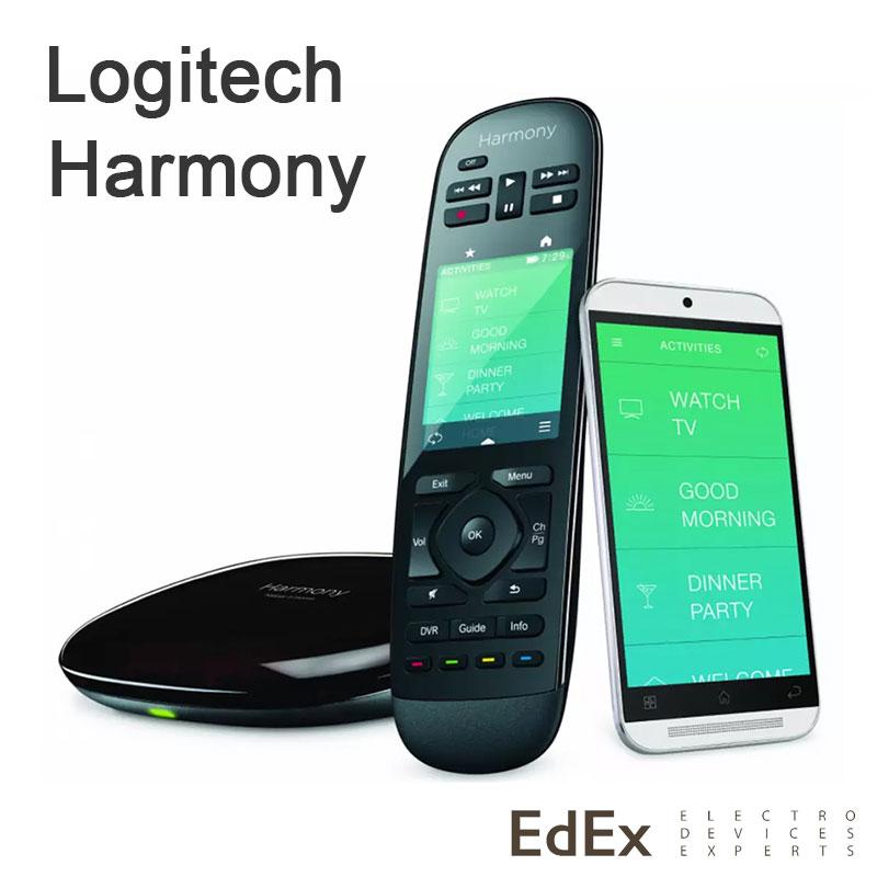 Универсальные пульты Logitech Harmony