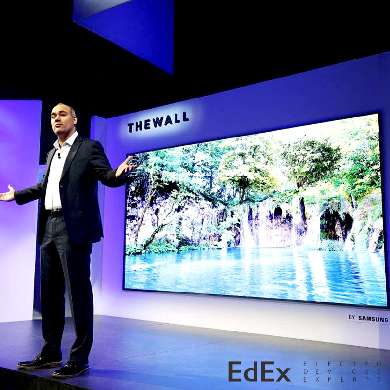 модульный телевизор Samsung the Wall