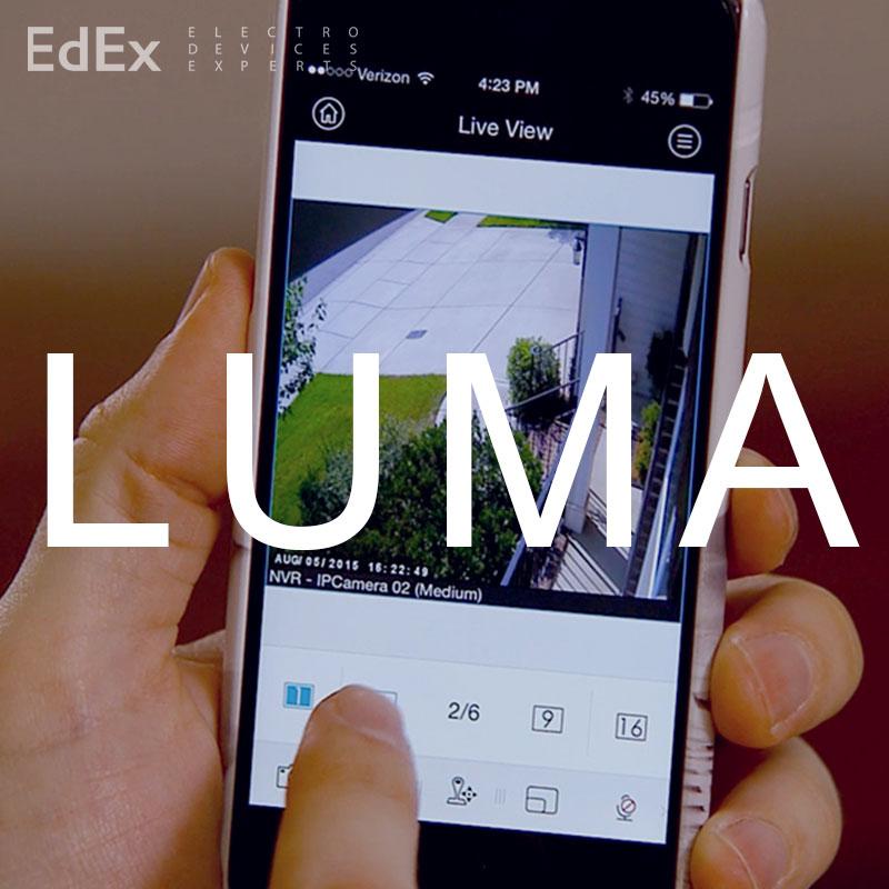 Видеонаблюдение от Luma