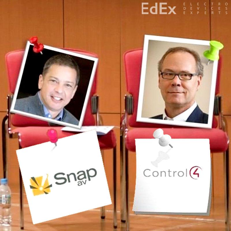 Слияние SnapAV и Control4