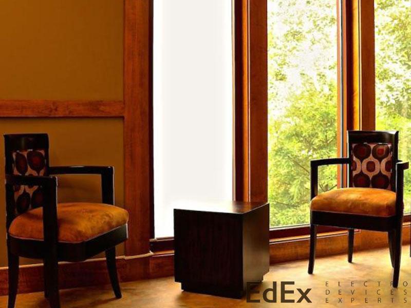 Умное стекло для замены штор