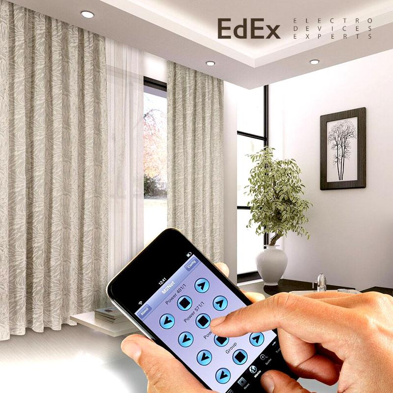Умные шторы – новейшие технологии