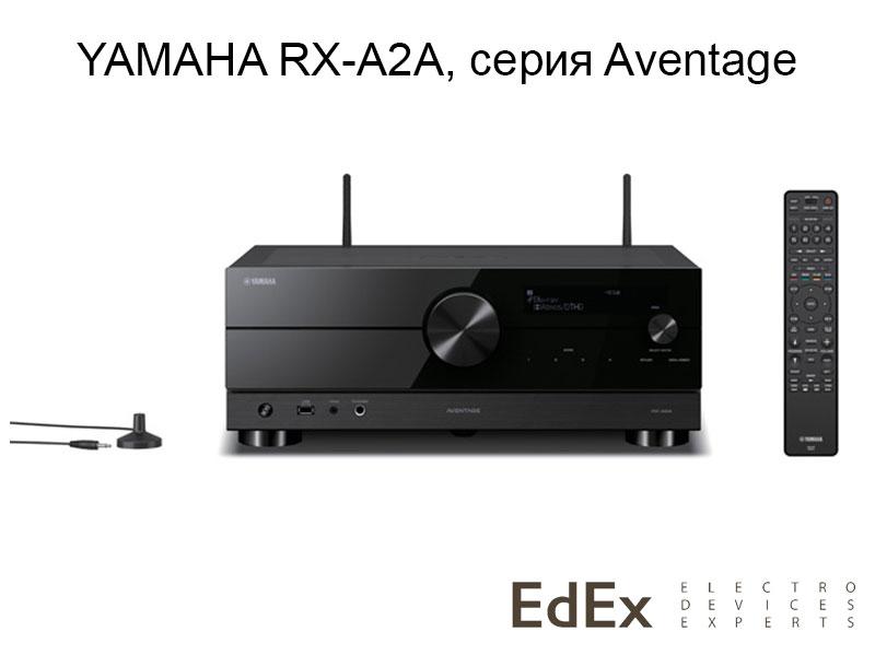 Yamaha RX-A2A - новый ресивер серии Aventage