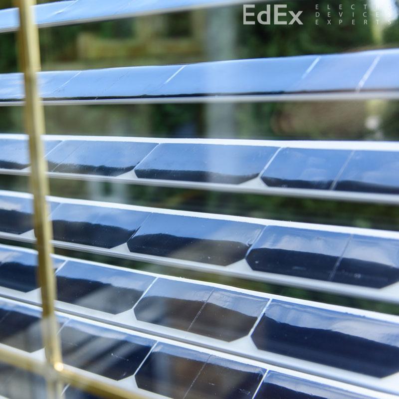 SolarGaps – жалюзи, вырабатывающие электричество
